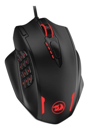 Mouse Gamer Redragon Impact M908 Rgb 12400 Dpi