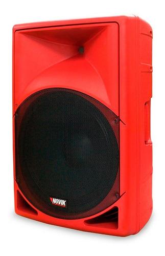 Bafle Activo Potenciado Novik Evo-350a Red 350rms Usb Bt