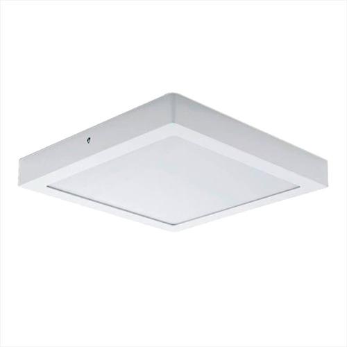 Panel Plafon Led 18w Aplicar Cuadrado 22x22cm