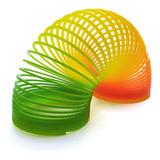Juguete Resorte Gusano Slinky Plastico Resistente Para Niños