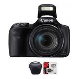 Camara Canon Sx540  Full Hd 50x Wifi 20mp Memo 32gb + Bolso