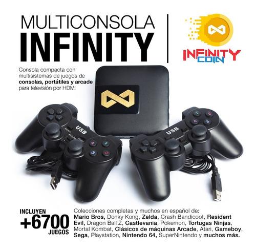 Consola Infinity De Juegos Arcade, Playstation, N64 Y Más