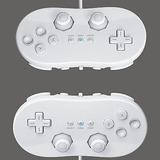 2 Classic Controller Pro Para Nintendo Wii Remote Blanco Us