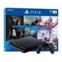 Sony Playstation 4 Slim 1tb The Last Of Us Remastered/god Of War/horizon Zero Dawn Complete Edition Cor  Jet Black Original