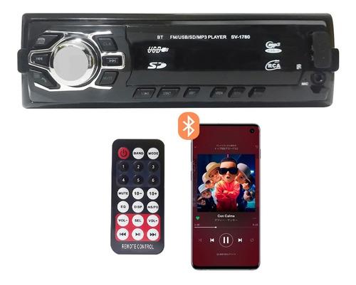 Stereo Auto Pantalla Bluetooth Mp3 Usb Fm Lcd Auto