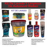 Kit De Lavado Y Limpieza De Automovil Walker - Maranello