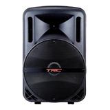 Alto-falante Trc Sound Trc 5536 Portátil Com Bluetooth Preto 110v/240v