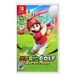Mario Golf: Super Rush Standard Edition Nintendo Switch Físico