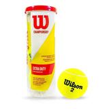 Pelota De Tenis #2 Wilson Championship Extra Duty 3 Unidades