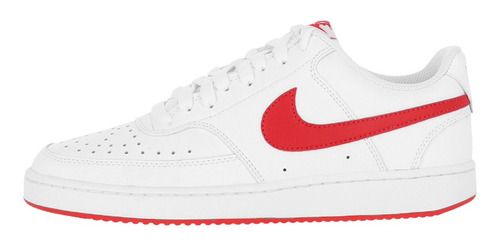 Zapatilla Nike Court Vision Low Hombre White/university Red