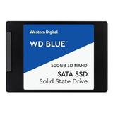 Disco Sólido Ssd Interno Western Digital  Wds500g2b0a 500gb Azul