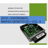 Manual Reparacion Ecu Comput Automotriz Diagramas Mapas Vol4