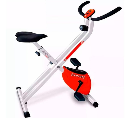 Bicicleta Fija Ergométrica Plegable Altura Ajustable El Rey