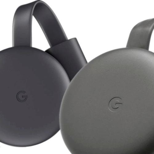 Google Chromecast 3rd Generación  Full Hd C/fuente Y Cables