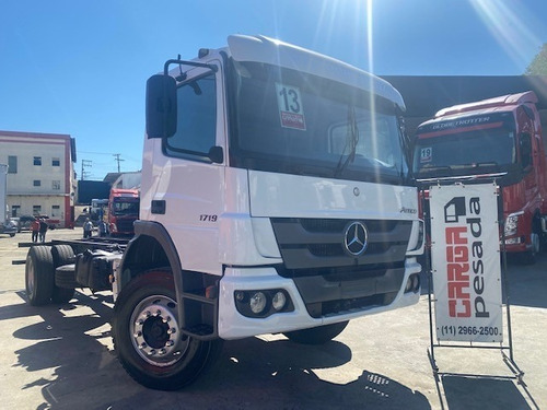 MB 1719 ATEGO 2013 CHASSIS TOCO= MB 1519 VW 15190 15180
