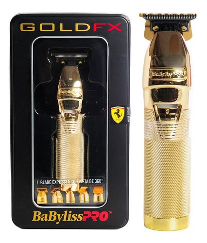 Babyliss Pro Gold Fx Trimmer Patillera Pelo Cuchilla En T