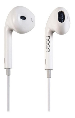 Auriculares Celular In Ear Manos Libres Noga Ng-5448 Cable Control iPhone Android Samsung Slim