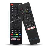 Control Remoto Smart Tv Para Noblex Dj43x5000 Dj X5100 X6500
