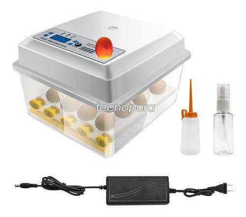 Incubadora Digital Huevos Volteo Automático + Control Temp.