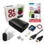Kit Raspberry Pi 3 B+ Case Cooler Dissipador Fonte 16gb Hdmi Original