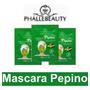 Kit Com 5 Sachês De Máscara Facial Pepino - Phállebeauty Original