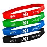 4 Bandas Resistencia Ejercicio Gym Crossfit K6 Fitness
