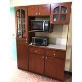 Mueble De Cocina De Madera Precioso Y Amplio