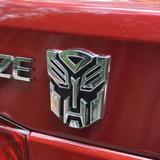Logo Emblema De Transformes Autobot En 3d