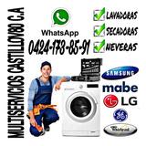 Servicio Técnico Lavadoras Nevera Frigidaire Samsung LG Mabe