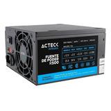 Fuente De Poder Acteck Power 5 R500 500w Negra 115v/230v