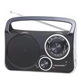 Radio Portátil Daihatsu D-rp400 Negro Am/fm Dual 220v Pilas