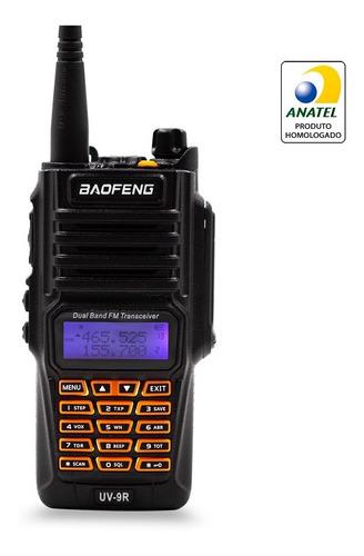 Rádio Comunicador Baofeng Uv9r 10w Resistente À Água Poeira