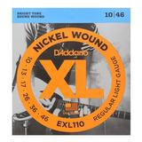Daddario Exl110 Cuerda Para Guitarra Electrica 10-46