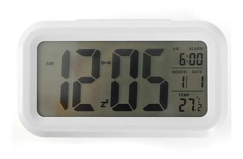 Reloj Despertador Pantalla Led Fecha Temperatura Alarma