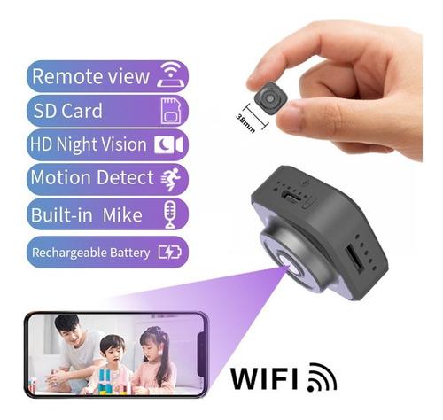 H9 Portátil Hd Real 1080p Mini Cámara Inalámbrica Ip Cámara