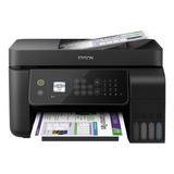 Impresora A Color Epson Ecotank L5190 Con Wifi Negra 110v