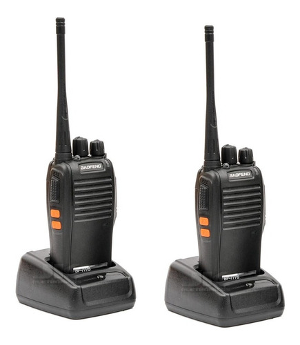 Rádio Comunicador Walk Talk Baofeng 777s Alcance 12km Fone