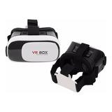 Lentes Gafas Realidad Virtual 3d Vr Box Celular Smartphone