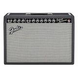 Amplificador Fender Vintage Reissue Series '65 Deluxe Reverb Combo Valvular 22w Negro Y Plata 220v
