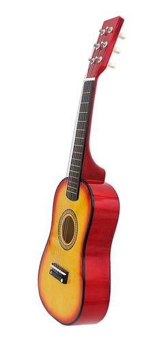 23 Pulgadas 6 Cuerdas Guitarra Acústica Para Niños