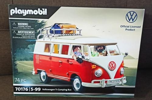 Playmobil Volkswagen Combi Roja