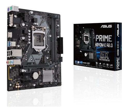Motherboard Asus Prime H310m-e R2.0 Intel H310 1151 8va 9na