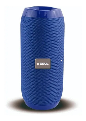 Parlante Bluetooth Usb Micro Sd Radio Fm Portati Xs100 Azul