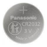 Pilha Cr2032 Panasonic Cr2032 Botão  - 5 Kit