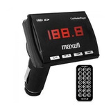 Reproductor Fm Car Media Player Marca Maxell 19-01-1015