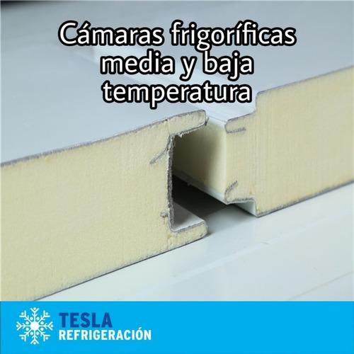 Panel Cámara Frigorífica 100mm(10cm). El Mejor Precio.x M2.