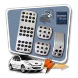 Peugeot 206 207 Pedales 100% Aluminio Macizo Tuningchrome