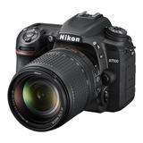 Nikon D7500 18-140mm Ed Vr Kit Dslr Color  Negro