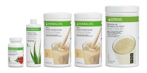 2 Batido 550gr + Proteina Pdm 616gr + Te Herbal 102gr + Aloe