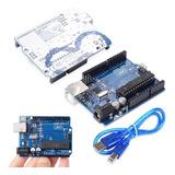 Arduino Uno R3 Con Cable Usb Chip Desmontable Atmel  Emakers